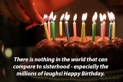 Happy Birthday my Sister
