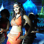 Anushka Hot Navel And Thigh Show Stills