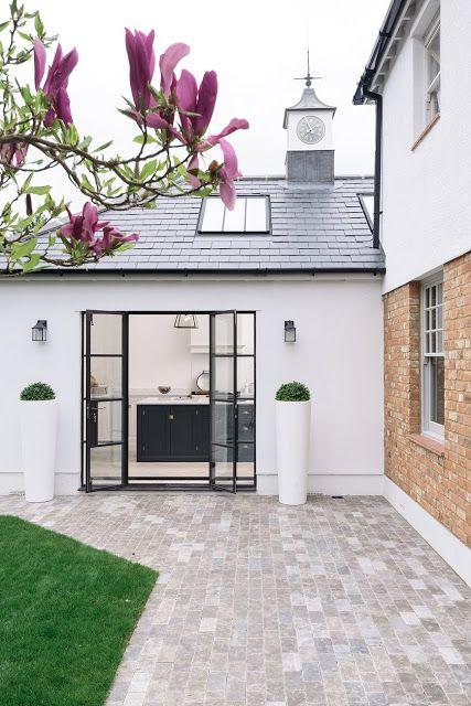 Inspiring modern farmhouse exterior - found on Hello Lovely Studio