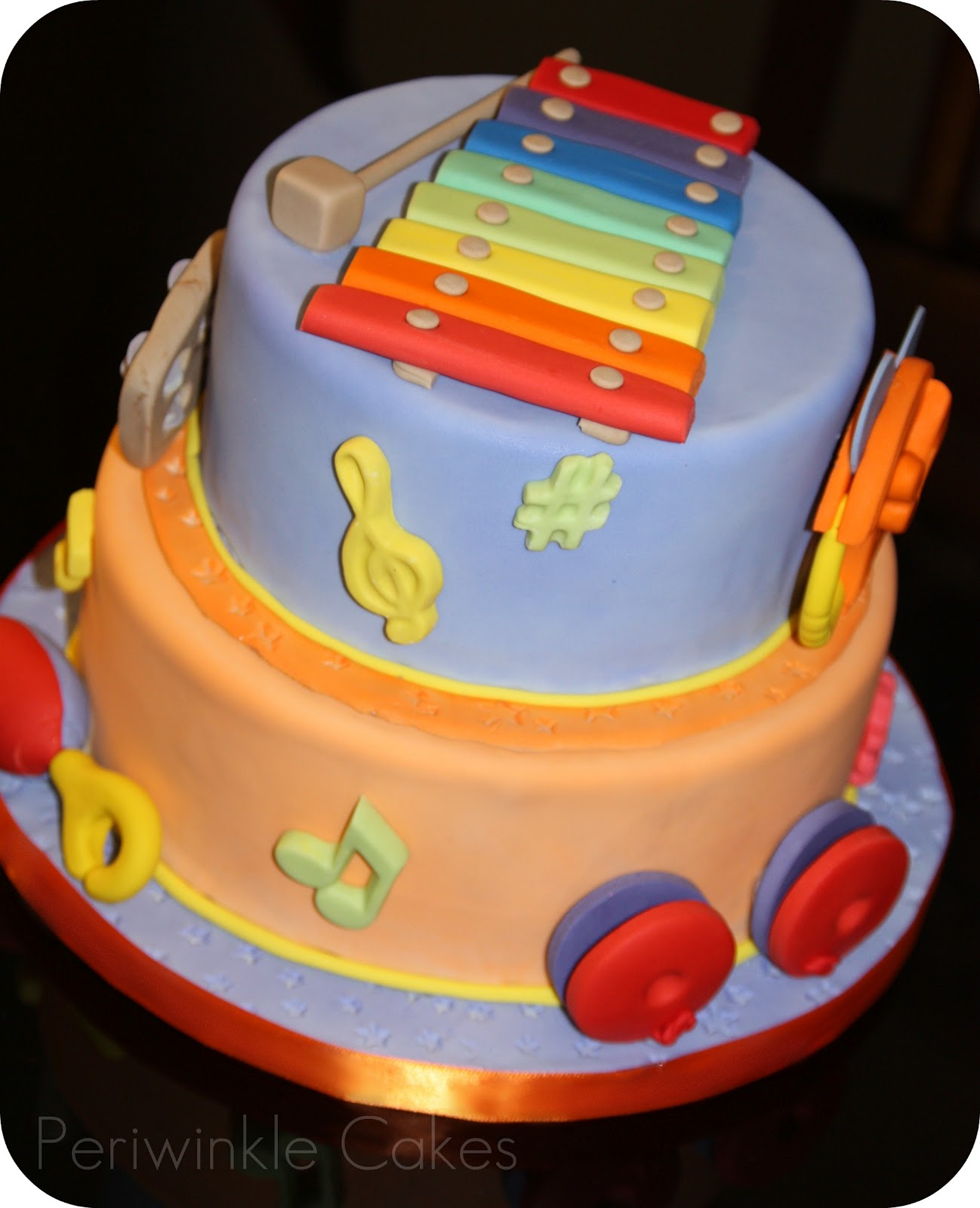 Periwinkle Cakes: The Taste Of Music