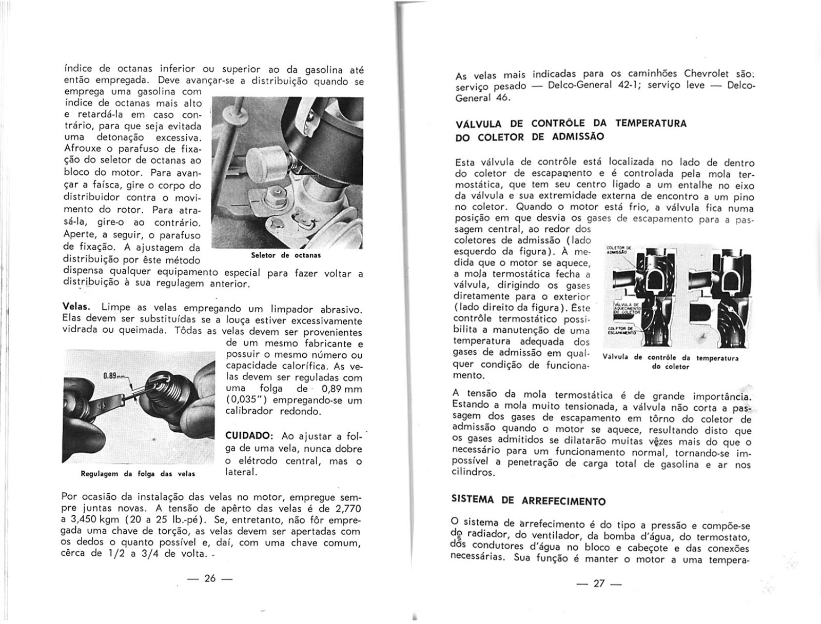 MANUAIS DO PROPRIETÁRIO: CAMINHÃO GM C60 E D60