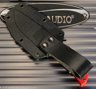Sanrenmu S628 compact fixed blade knife