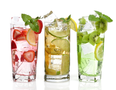Avoid sugary drinks. Infuse your water with fruits, vegetables, or herbs.