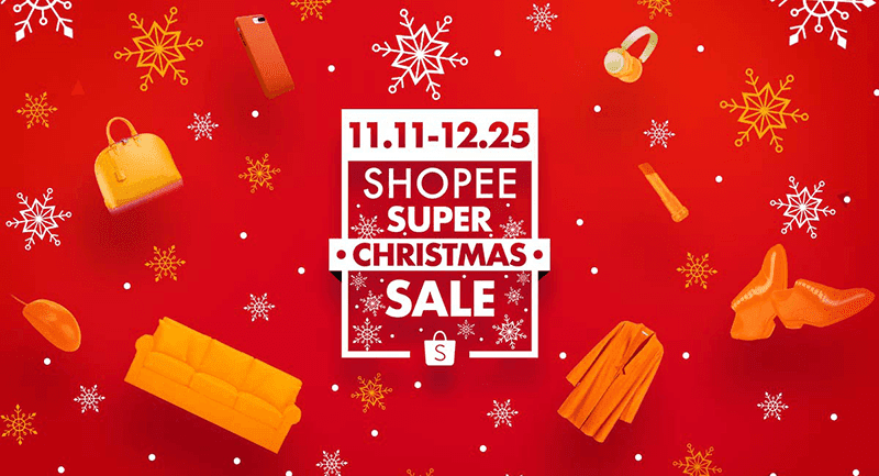 Shopee Launches Holiday Super Sale For December 2017 Free Shipping