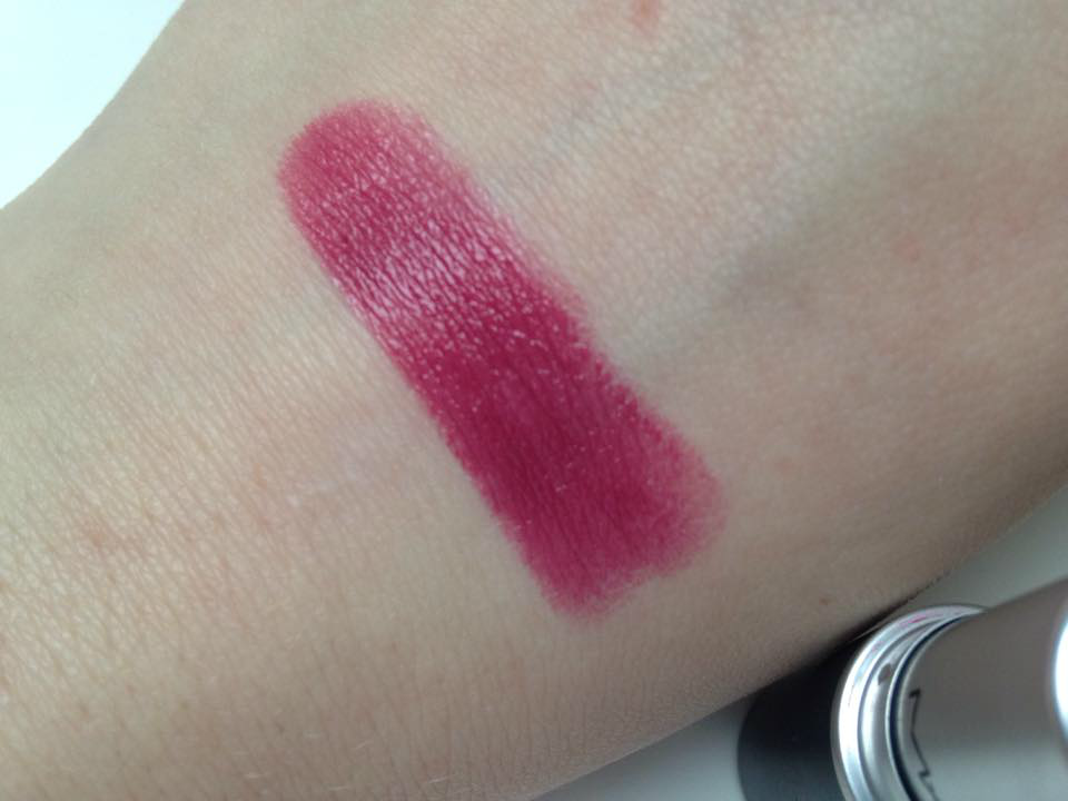MAC Lipstick in Plumful Life from the Tub
