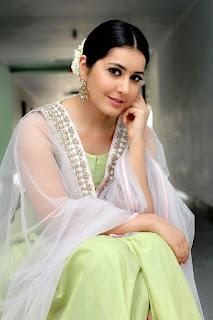 Rashi Khanna in lovely Mini Skirt and Green Anarkali Dress Spicy Pics