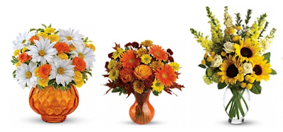 Fall Flower Bouquets from Teleflora