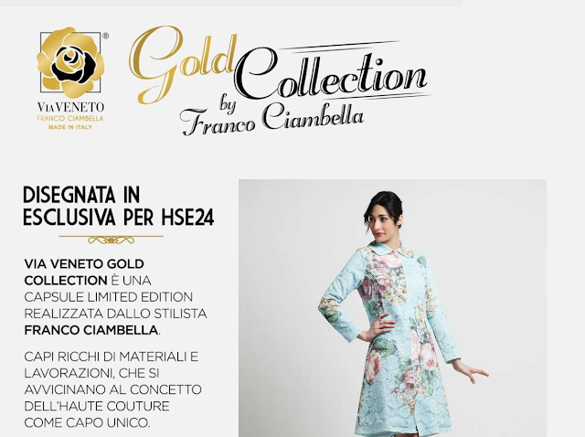via veneto gold collection by franco ciambella su hse24