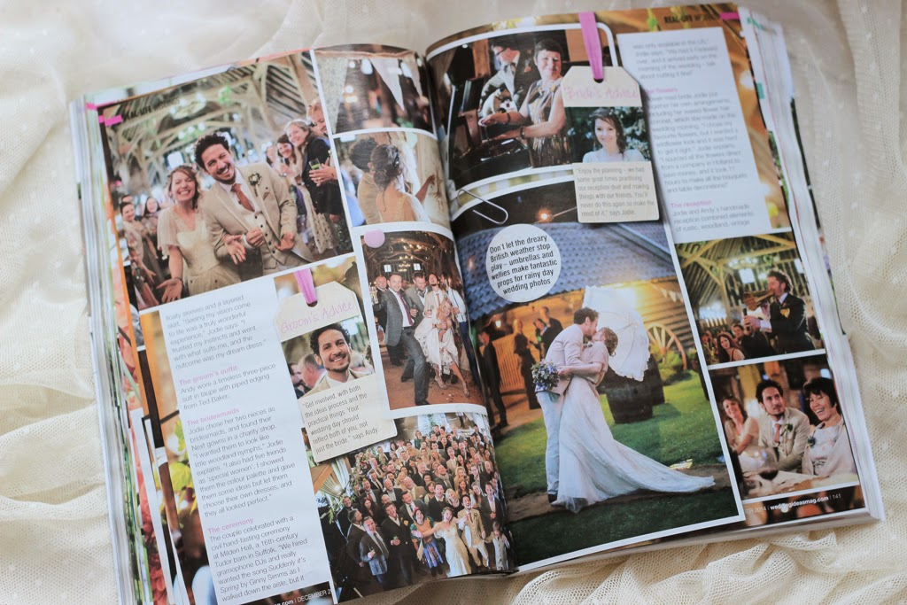 Binky Nixon Wedding ideas magazine feature