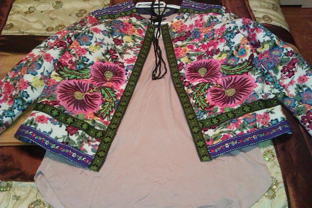 chaqueta de flores asos