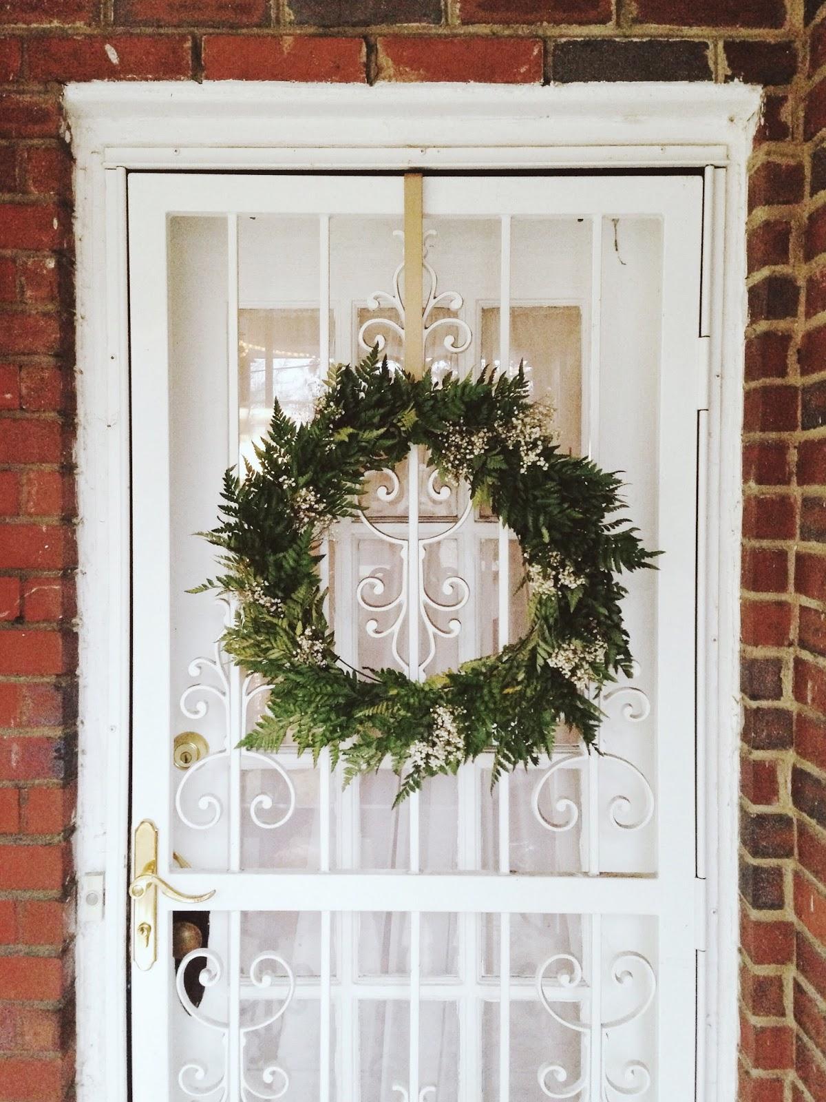diy: live wreath