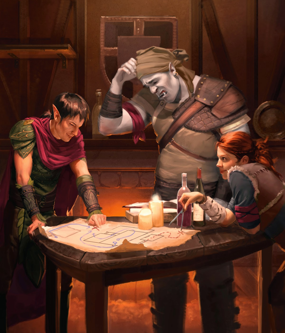 pact of the tome  getting started with the starter set