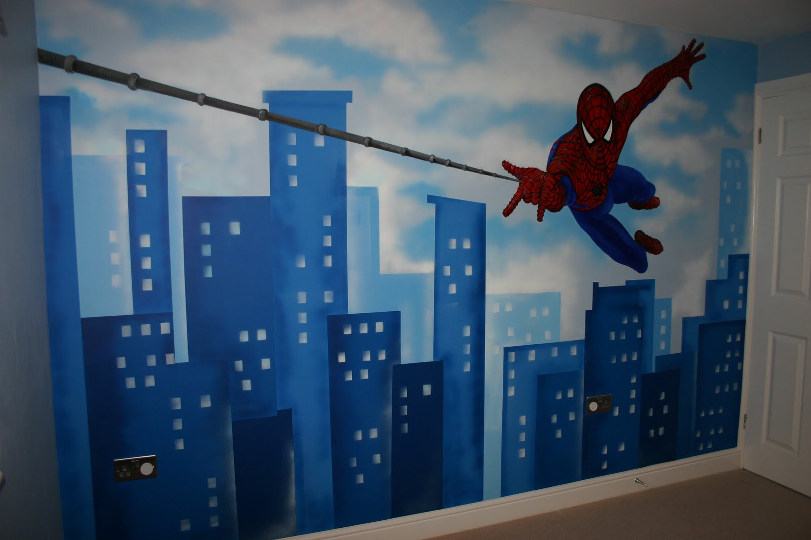 Mural Designs Quot The Muralist Quot Spiderman Wall Mural