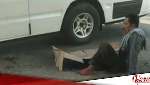 Kecelakaan Jl. Simpang Lima Purwodadi, Tergilas Truk Pasir, Kaki Pengendara Sepeda Ini Remuk