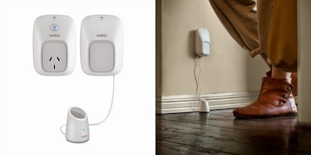 Home automation products from Belkin's WeMo range