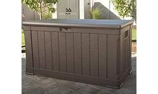 Lifetime Outdoor Deck Storage Box 116 Gallon, Lifetime Deck Boxes, Lifetime Plastic Deck Boxes, Lifetime Extra Large Deck Box, Lifetime Deck Storage Box,  Lifetime Deluxe Deck Storage Box, Lifetime Deck Storage Box UV Protected, Lifetime,