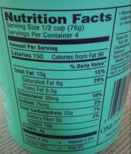 Blue bell pistachio ice cream nutrition facts besto blog for Where can i find blue bell christmas cookie ice cream