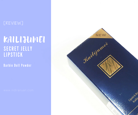 [REVIEW] Kailijumei Secret Jelly Lipstick - Barbie Doll Powder*