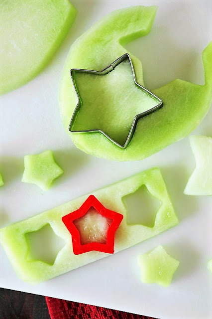 Honeydew Fruit Stars for the 4th of July Image