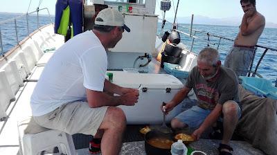 www.pescaturismomallorca.com El auténtico arroz marinero de Pescaturismo