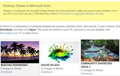 download tema windows 10 gratis dari microsoft