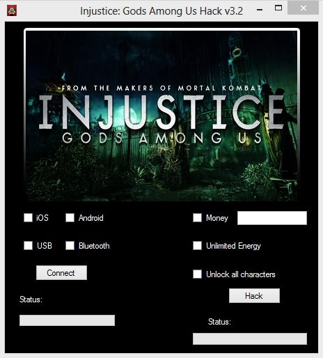 Injustice Hack October 2013 update - v.3.2 | New Free ...