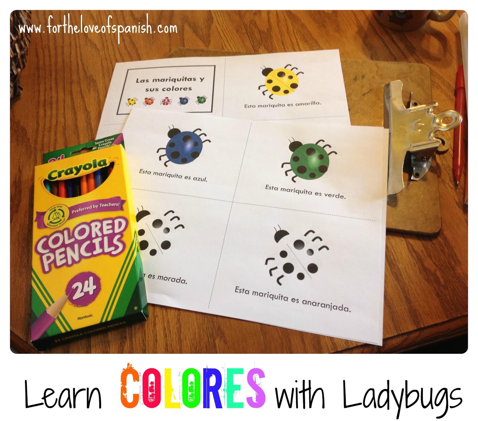 Learn Spanish With Ladybugs Las Mariquitas Y Sus