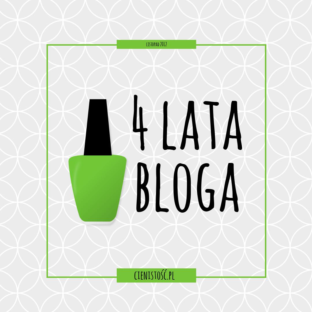 4 lata blogowania, nowy szablon i drugi blog!