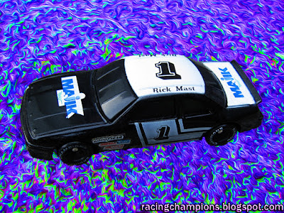 Rick Mast #1 Majik Markets Racing Champions 1/64 NASCAR die-cast blog BGN Skoal