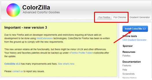 Cara Mengetahui Kode Warna HTML Blog Orang Lain Dan Gambar