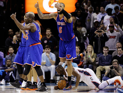 NBA : Beleaguered Knicks Travel to Oklahoma City