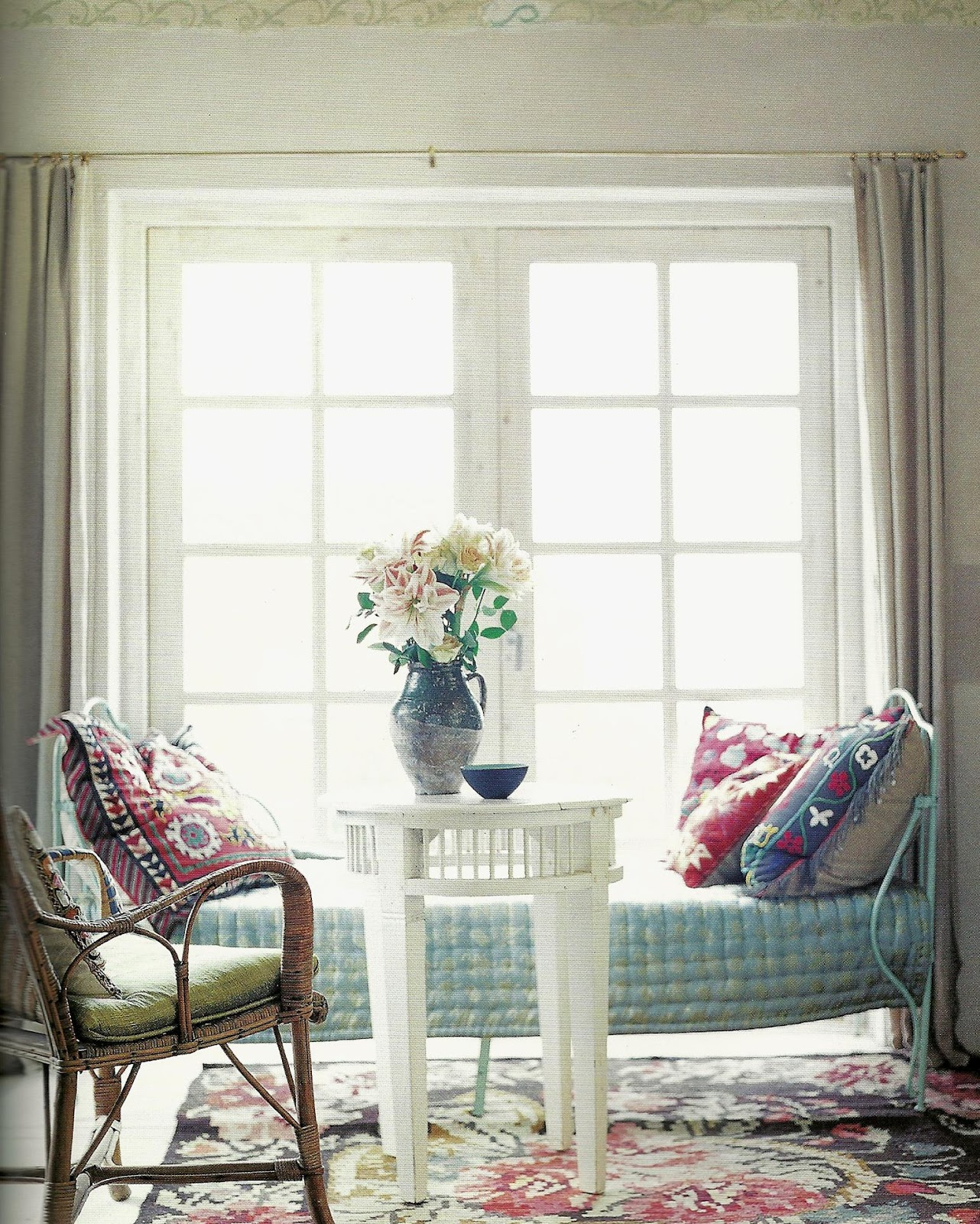 Boho Chic Furniture: Pallet For Home: Interiors: Boho Chic