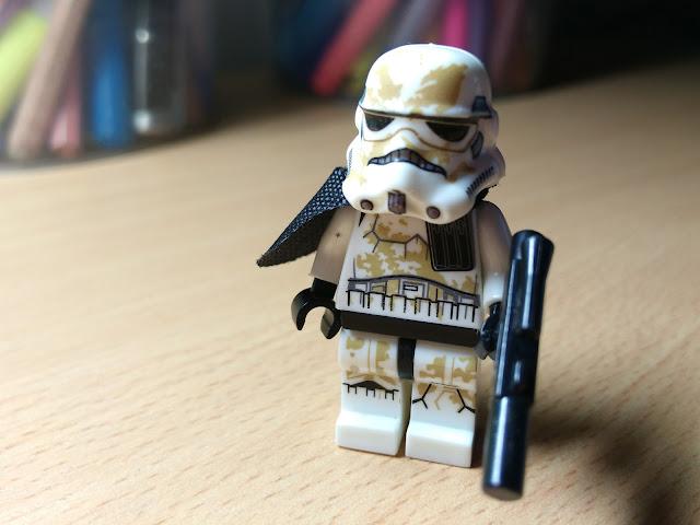 Песчаный штурмовик фигурка лего купить