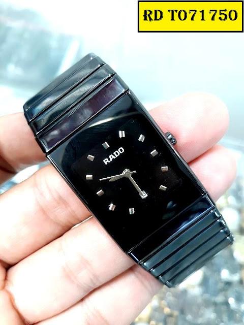 đồng hồ Rado mặt vuông RD T071750