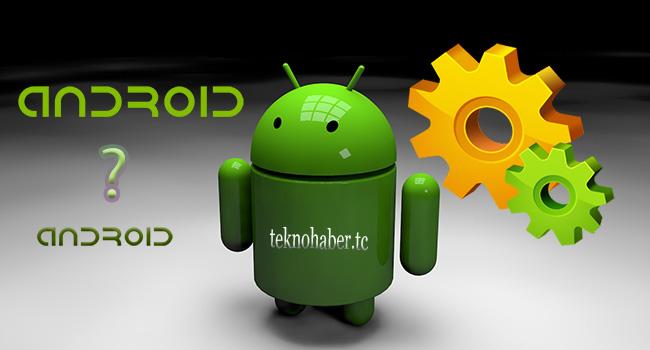 android ayarları