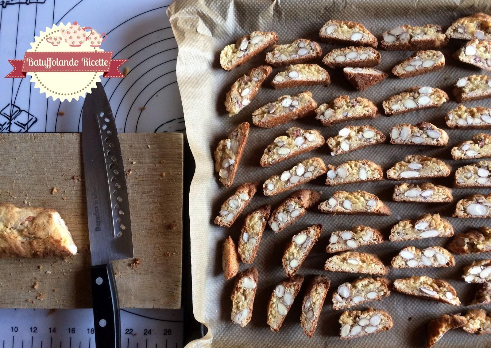 Biscotti Da Credenza Alice : Batuffolando ricette biscotti di prato cantucci giovanni pina