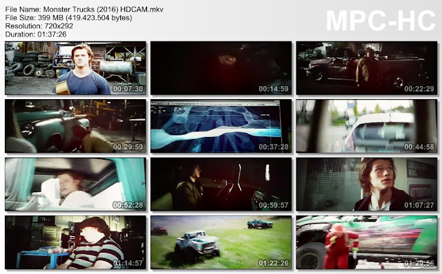 Download Film Terbaru Monster Trucks (2016) HDCAM Subtitle Indonesia