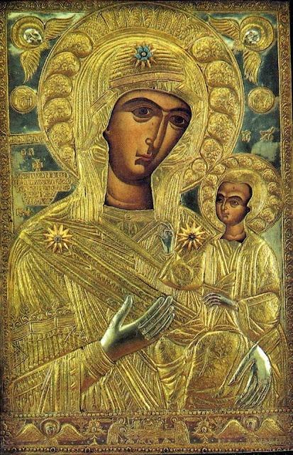Τα Πατήματα Της Παναγίας Της Προυσιώτισσας..EIKONEΣ