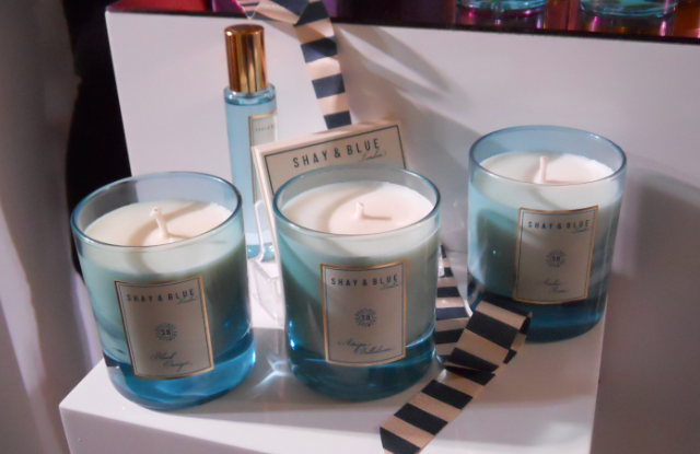 Shay & blue, Shay & blue candles