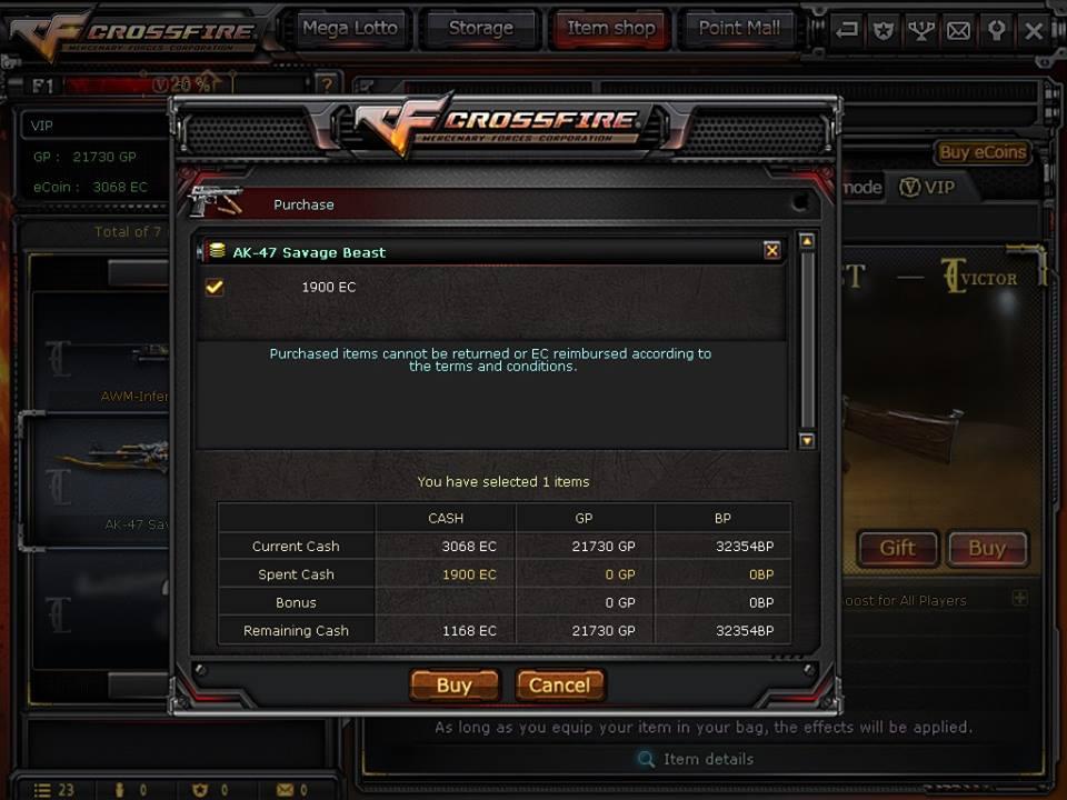 New CrossFire PH 2 0 VIP Generator CheatS Barret M82A1