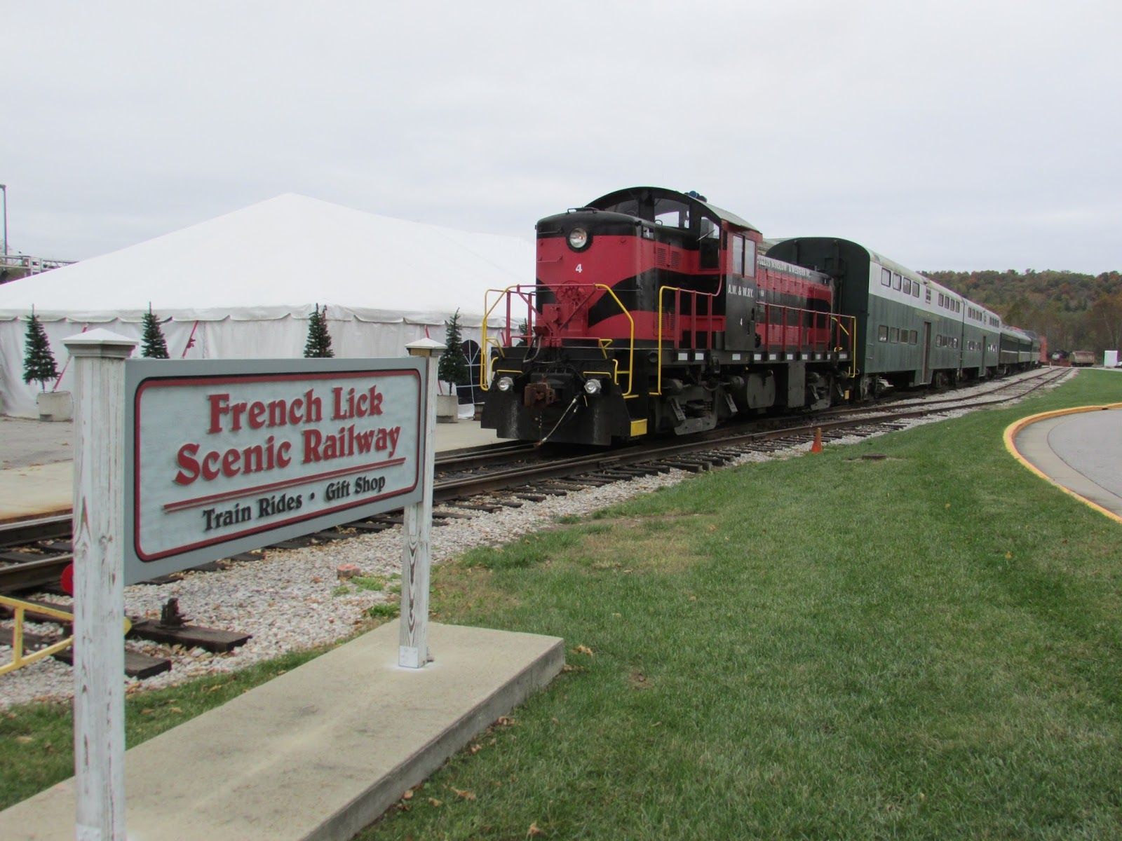 French lick west baden train rides