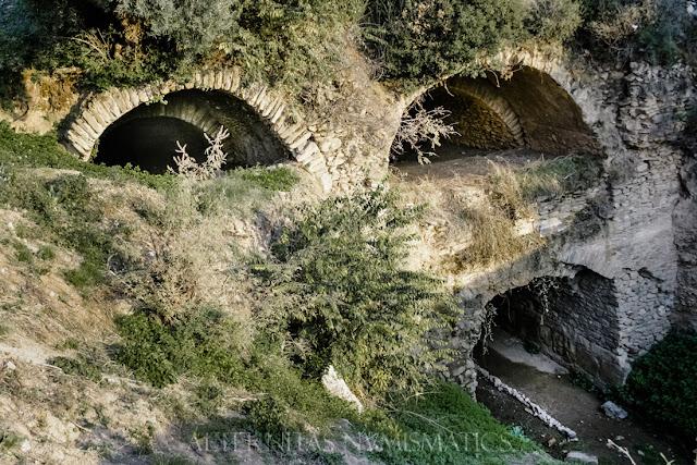 Nisa túnel de canalización del arroyo Eudón