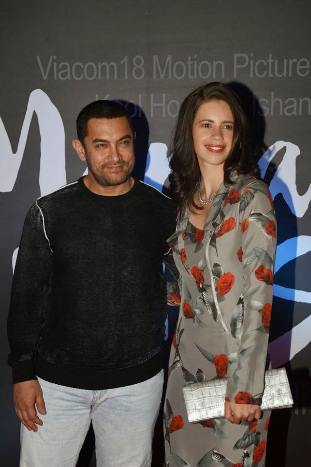 Aamir Khan unveils Margarita, with a Straw First Look