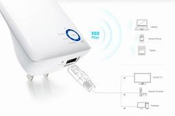 Mengguatkan Sinyal WiFi dengan TP-Link TL-WA850RE Terbukti Ampuh