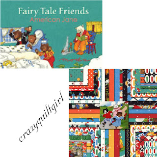 Moda FAIRY TALE FRIENDS Quilt Fabric by American Jane
