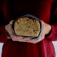 Pão de espelta e noz