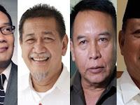 Profil Singkat 4 Calon Gubernur Jawa Barat 2018