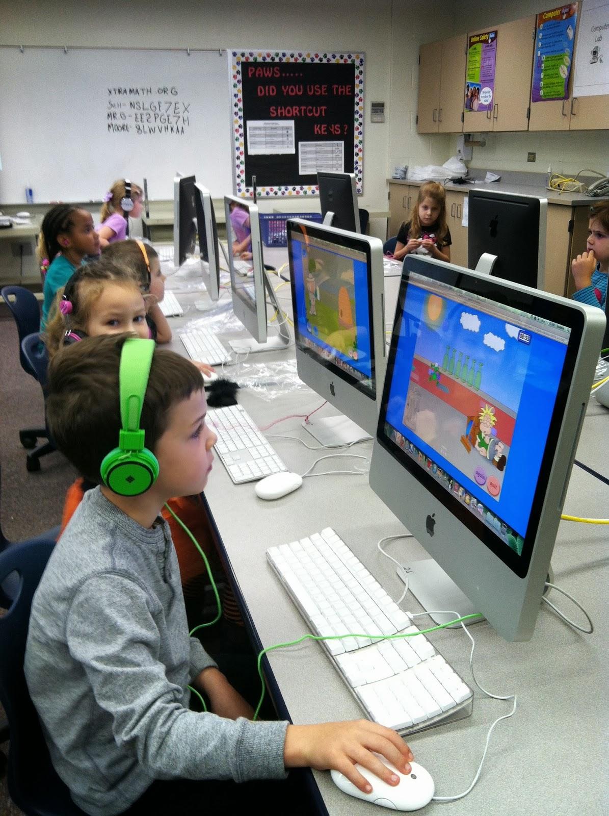 Mrs Kurt S All Star Kindergarten Blog Computer Lab And