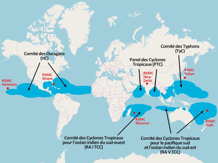 Vive la retraite comment sont choisis les noms des ouragans - Les 5 cyclones ...