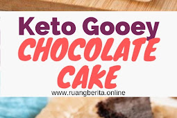 Keto Gooey Chocolate Cake